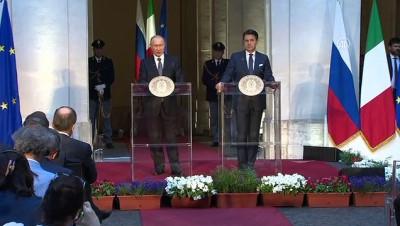 ticaret anlasmasi - Putin, Libya sorunundan NATO'yu sorumlu tuttu - ROMA