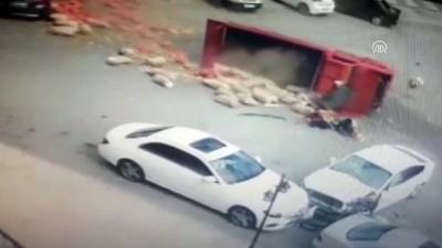 Trafik kazası güvenlik kamerasında - MALATYA