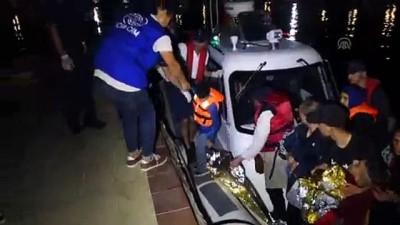 nani - 93 düzensiz göçmen yakalandı - ÇANAKKALE
