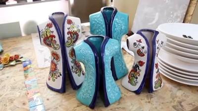 İran'da öğrendiği seramik sanatını meslek edindi - GİRESUN