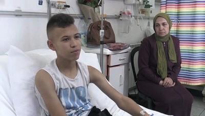 mermi - İsrail mermisi Filistinli çocuk Salah'ı hayallerinden kopardı - BEYTULLAHİM