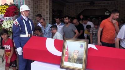 Tuğgeneral Turgay Aras'ın babası son yolculuğuna uğurlandı - MERSİN