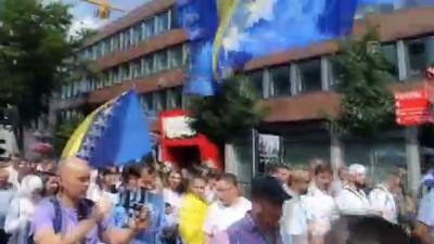 Almanya'da Srebrenitsa için 'Barış Yürüyüşü' - DORTMUND