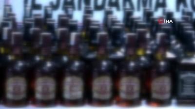 Isparta'da içki kaçakçılığında 1 tutuklama