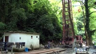 Maden Deresi'nde sıcak su ve şifalı su ölçümü yapılıyor