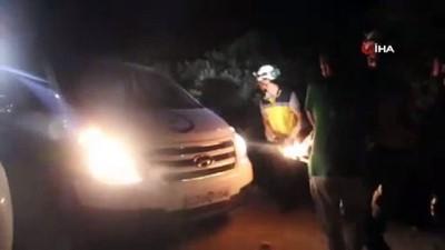 -Suriye Savaş Uçakları İdlib'te Muhambel Köyünü Bombaladı: 10 Ölü