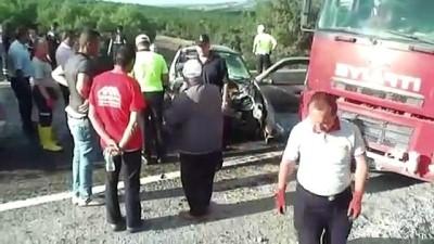 Trafik kazası: 1 ölü, 6 yaralı - YOZGAT