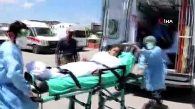 tarim iscisi -  15 Tarım işçisi kimyasal ilaçtan zehirlendi