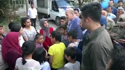 Bakan Soylu, Afrin'de görev yapan uzman çavuşun düğün törenine katıldı