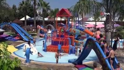 Çocuklar yaz okulunda doyasıya eğleniyor