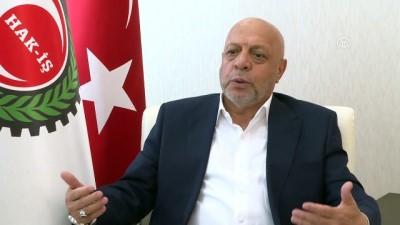 Hak-İş Genel Başkanı Arslan: 'Üye sayımızı yüzde 100'e yakın artırdık' (2)- ANKARA