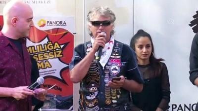 uyusturucuyla mucadele - Motosiklet tutkunları 'uyuşturucuyla mücadele' için toplandı - ANKARA