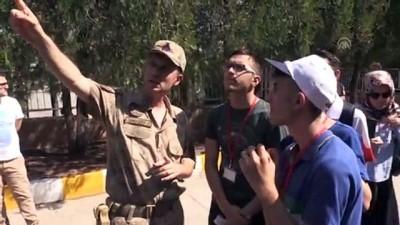 zirhli araclar - Tekirdağlı öğrenciler Diyarbakır'da akranlarıyla buluştu