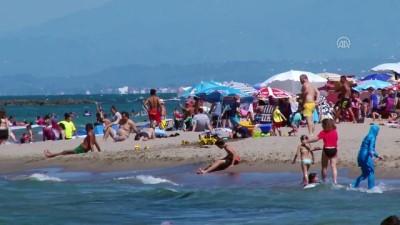 hava sicakligi - Vatandaşlar sahillere akın etti - SAKARYA
