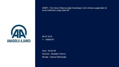 Anadolujet, İzmir-Ankara uçuşunu arıza nedeniyle iptal etti - İZMİR