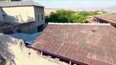 Drone'lu kaçak kazı operasyonunda 4 gözaltı