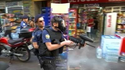 kalaba - İstanbul'da onur yürüyüşüne biber gazlı müdahale