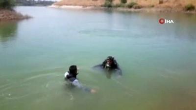 asad -  Malatya'da serinlemek için baraja giren genç boğuldu