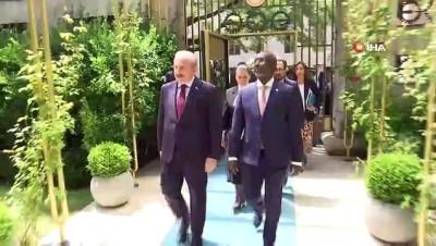 Meclis Başkanı Mustafa Şentop, Cibuti Ulusal Meclis Başkanı Mohamed Ali Houmed ile görüştü