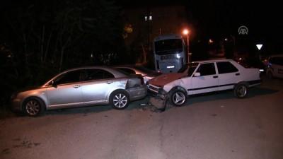 Polisin 'dur' ihtarına uymayarak araçlara çarpan sürücü kaçtı - KAHRAMANMARAŞ