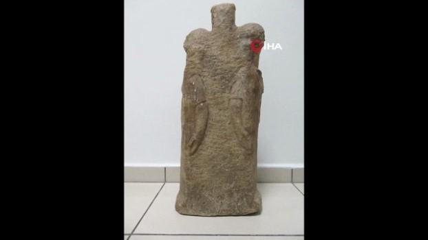 tarihi eser kacakciligi -  Roma dönemine ait kanatlı ve 3 başlı kadın heykeli ele geçirildi