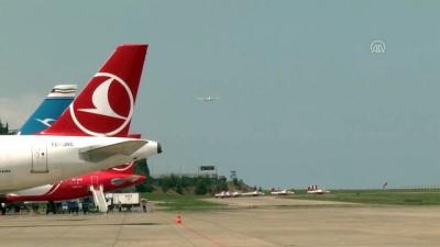 THY'nin 'Maçka' uçağı şehit Eren Bülbül anısına uçtu - TRABZON