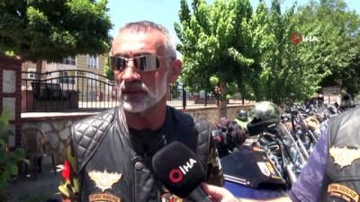genel baskan -  Türk Riders Chopper Clup üyeleri Nazilli'de Buluştu