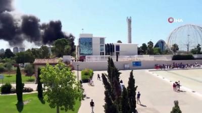 - Avrupa'nın En Büyük Akvaryumunda Yangın
