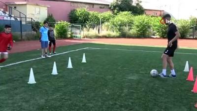 Çocuklar sporla kötü alışkanlıklardan korunuyor