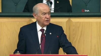 parlamento -  MHP Genel Başkanı Bahçeli: 'İnanıyorum ki Türkiye Cumhuriyeti sonsuza kadar yaşayacaktır'