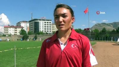 altin madalya - Milli sporcu Akbingöl, Avrupa şampiyonasına hazırlanıyor