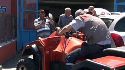 Ankaralı memur, 8 tonluk kamyonu çekebilen ATV tasarladı
