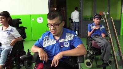bedensel engelli - Engelli Bilal'in spor yapma hayali oyuncak satarken gerçek oldu
