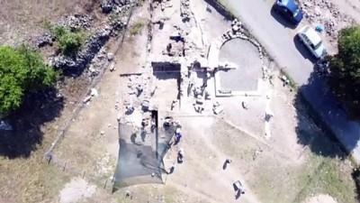Hadrianaupolis'te 2. yüzyıla ait mezar bulundu - KARABÜK