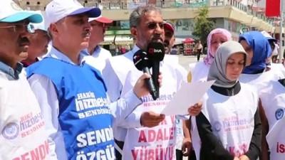 ramazan ayi - İşlerine dönmek için 100 gündür eylem yapıyorlar - BOLU