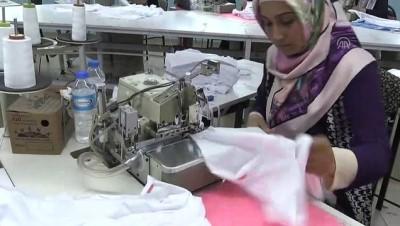 tekstil atolyesi - Kadın ustalar dünya markalarına elbise dikiyor - IĞDIR