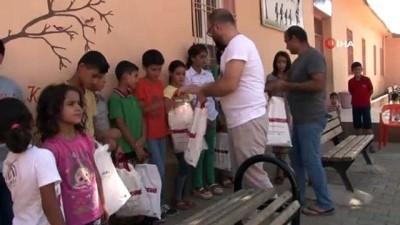 Sınırın masum çocuklarının mutlu günü