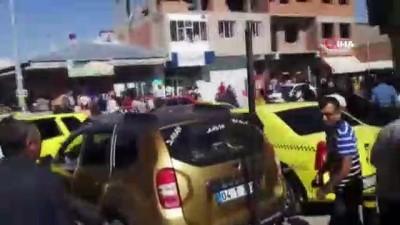 İki husumetli aile arasında çıkan muhtarlık kavgasında 7 kişi yaralandı