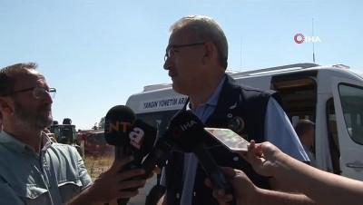 is makinesi -  Orman Genel Müdürü Bekir Karacabey: 'Yangın 100 hektarlık alanda etkili oldu'