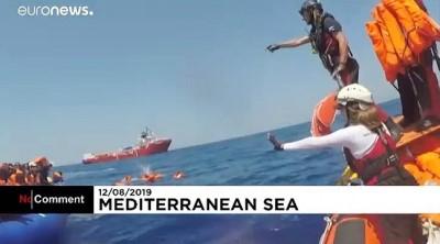 kurtarma operasyonu - Denizde mahsur kalan 500 mülteciyi kurtarma operasyonu