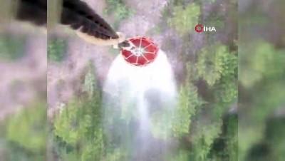is makinesi -  Eskişehir'deki orman yangını kontrol altına alındı