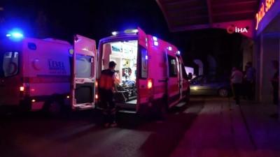 Gondoldan düşen 11 yaşındaki çocuk yaralandı