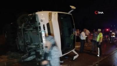 sparta -  Isparta'da trafik kazası: 10 yaralı