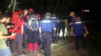 mangal keyfi -  Uludağ'da mahsur kalan vatandaş 5 saat sonra kurtarıldı