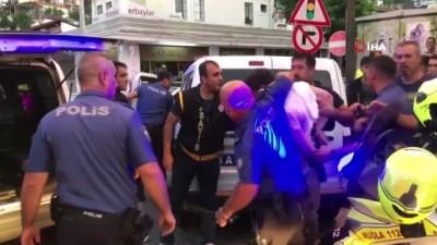 Denizlispor Başkanı'nı, polisin biber gazı sıkıp yerde sürükleyerek gözaltına aldığı iddiası