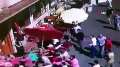 zabita -  Faytoncuların 'meydan muharebesi' kamerada