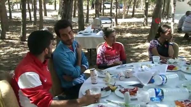 mangal keyfi - Atletizm Milli Takım kampı Palandöken'de sürüyor