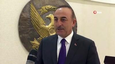 """- Bakan Çavuşoğlu: """"Türkiye'nin Sudan'a desteği artarak devam edecek"""""""