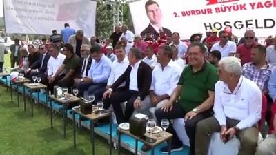 yagli gures - Burdur'da Başpehlivan Ali Gürbüz