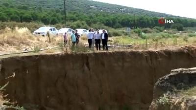 tarim arazisi -  İzmir'de oluşan dev düdenler yeraltı barajı olacak